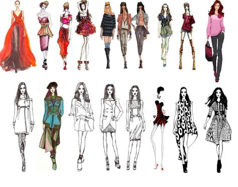 fashion illustration exles tv so cho