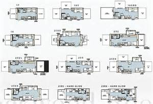 Rockwood Roo Floor Plans by Forest River Rockwood Roo Expandable Travel Trailer Floorplans