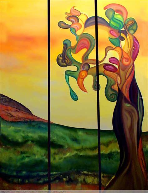 imagenes de pinturas figurativas faciles arbol margarita hoyos artelista com