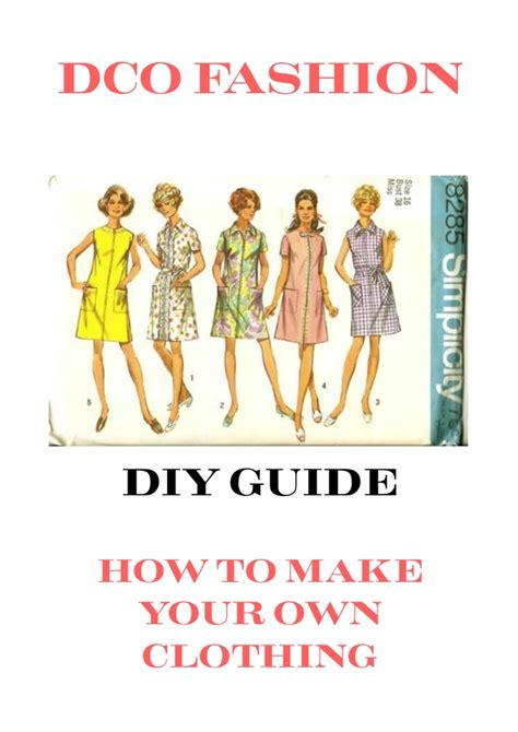 patternmaking for fashion design slideshare how to make your own fashion clothes