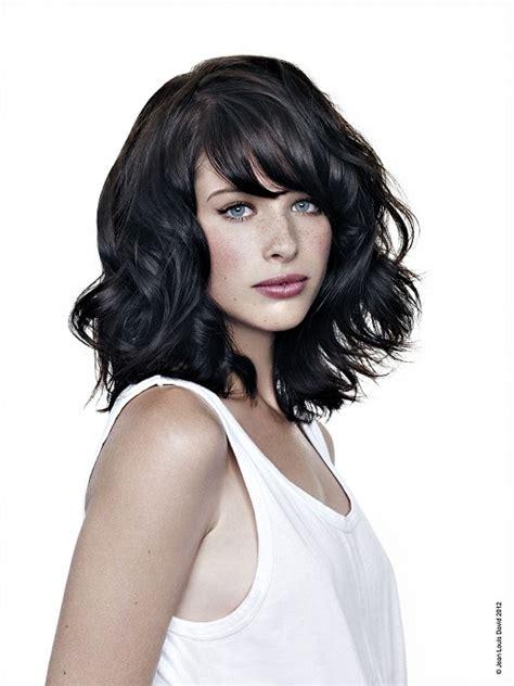 black hair media short hairstyles a medium black hairstyle from the jean louis david