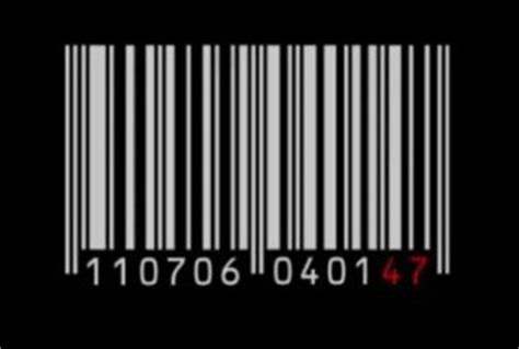 barcode tattoo analysis image gallery agent 47 tattoo