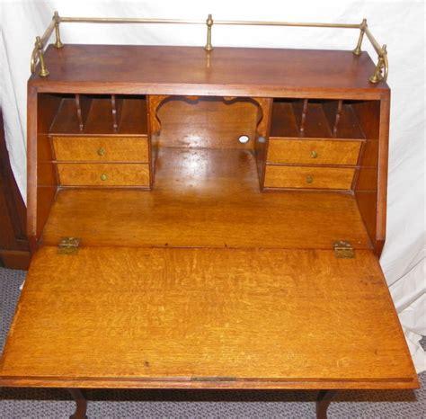 Antique Drop Desk by Bargain S Antiques 187 Archive Antique Carved Oak