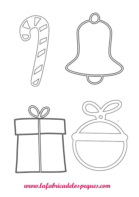 imagenes de dulceros navideños para niños de preescolar adornos navide 241 os dibujos para colorear