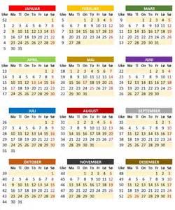 Kalender 2018 Norge Ukekalender Ukekalender 2017