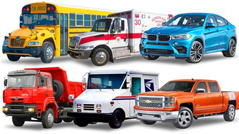 for cars trucks vehicles names for cars and trucks ambulance
