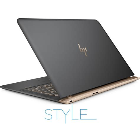 Pc Black Grey buy hp spectre 13 v051na 13 3 quot laptop grey copper spectre 14 quot laptop bag black