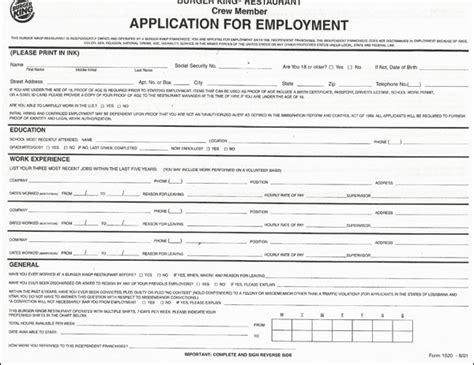 printable job application for aldis generic employment application form ohio employment