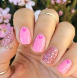 51 cute valentine day nail art designs nail design ideaz