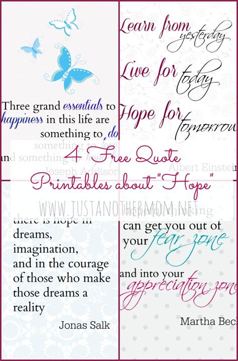 printable hope quotes printable kindergarten assessments quotes