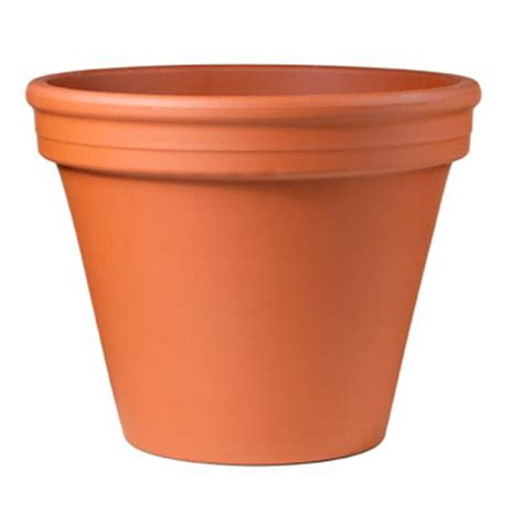 flower pot clay flower pot rona