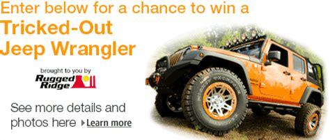 Jeep Wrangler Giveaway Jeep Wrangler Giveaway