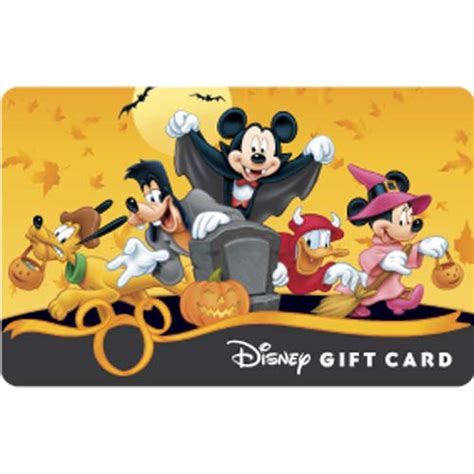 Disney Cruise Line Gift Card - your wdw store disney collectible gift card halloween mickey trick or treat