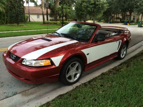 2000 mustang v8 find used 2000 ford mustang gt convertible 2 door v8 4 6l