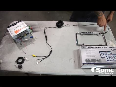 how to install a back up camera | sonic electronix youtube