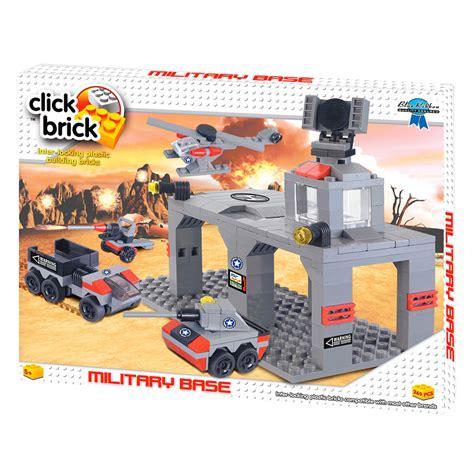 Clicks Bricks Brands click brick base build play set plastic