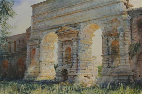 porta maggiore rome july painting of the month porta maggiore rome