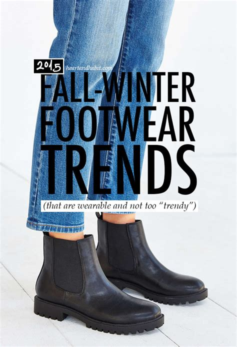fall winter 2015 footwear trends that are every day