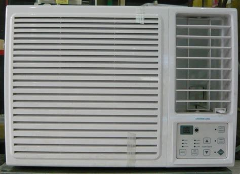 Aircon Panasonic 1hp crowne aire 1 hp window type aircon with remote cebu appliance center