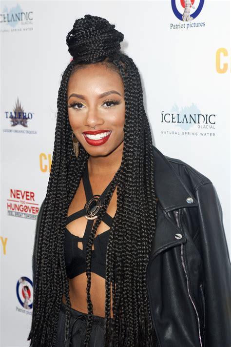block singles hairstyles 20 badass box braids hairstyles that you can wear year