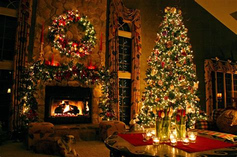 Christmas Decorations | indoor christmas tree decoration ideas christmas tree
