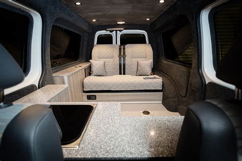 Vw Camper Upholstery Caddy Conversions New Wave Custom Conversions