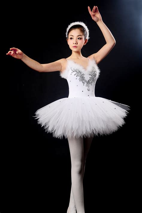 White Swan Dress free shipping new professional ballet dress white