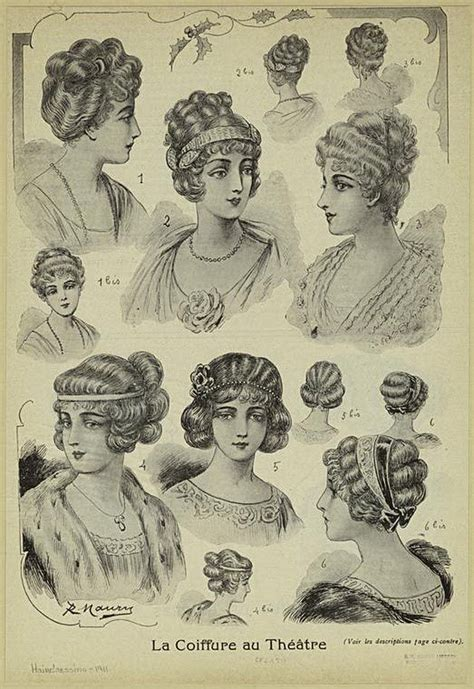 hairstyle 1914 women 8 best 1910 hair images on pinterest edwardian