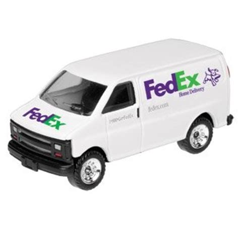 fedex home diecast delivery 1 64 scale ups truck