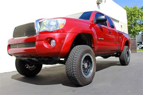 2wd toyota lift kit 2005 17 toyota tacoma 2wd 4 quot lift kit w maxtrac shocks