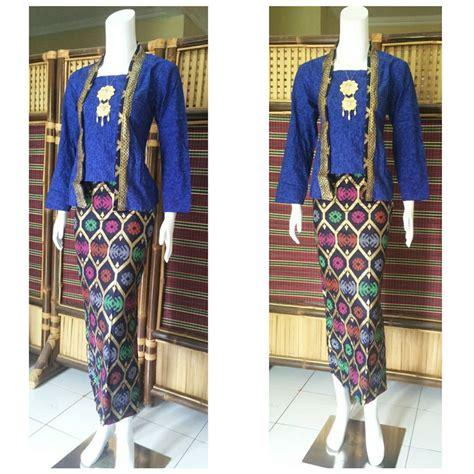 Batik Wanita Blus Kantor jual kebaya batik rok blus baju wanita pesta kantor gb 75 jogja unik