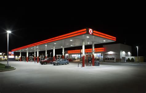 station with lights led gas station lights canopy lighting cree lighting