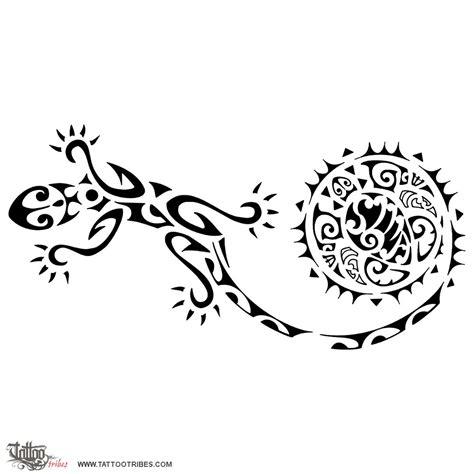 Tattoo of Moko, Gecko tattoo   custom tattoo designs on TattooTribes.com