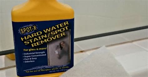 water spot remover for shower doors how to clean glass shower doors 1 spot x water stain