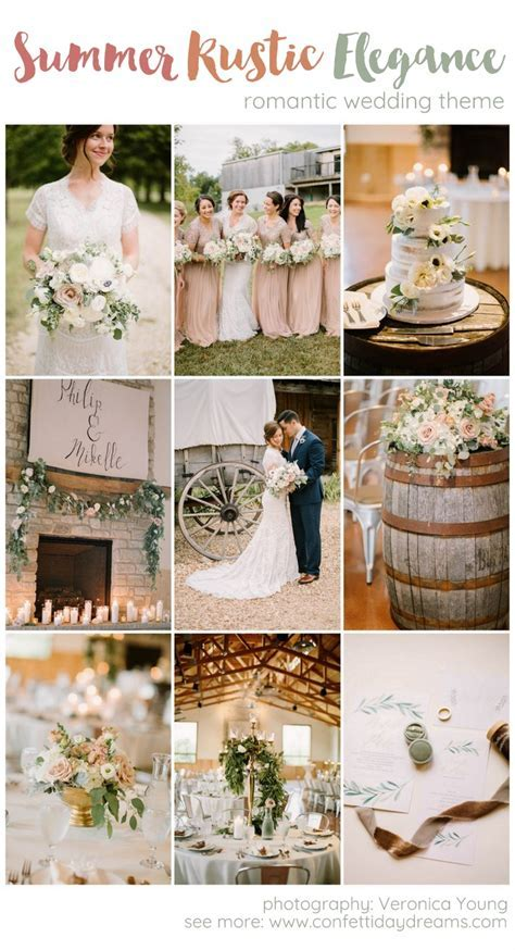 Ridiculously stunning summer Rustic Elegance wedding