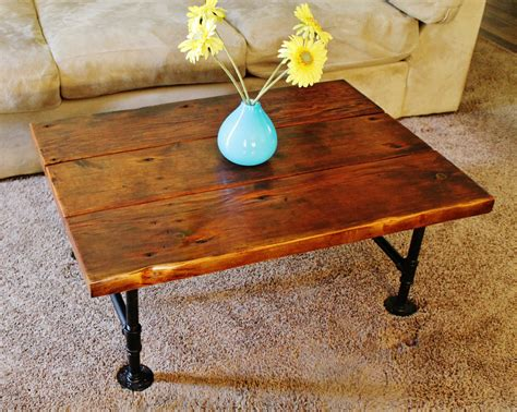 How To Make A Reclaimed Wood Coffee Table Coffee Table Reclaimed Wood Coffee Table With Pipe Table