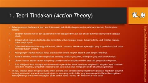 sosiologi patterns of action adalah paradigma sosiologi