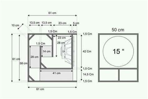 sound design adalah ukuran dan skema box subwoofer speaker mau speaker