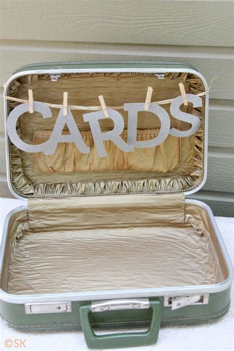 25 best ideas about wedding card suitcase on