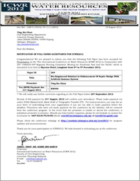 Offer Letter Iium About Iium Repository Irep