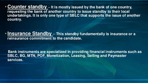 Letter Of Credit Kurs what is a standby letter of credit its various types