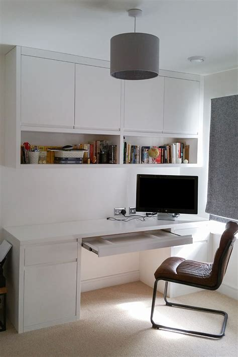 desk with cabinets above best 25 shelves above desk ideas on
