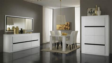 miroir de salle a manger rectangulaire miroir rectangulaire design laqu 233 blanc et noir