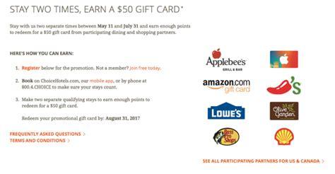 Choice Hotels Gift Card - choice hotels gift card lamoureph blog