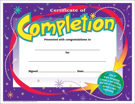 30 30 Awards The Swagtime by 30 Certificates Of Completion Large Certificate Award