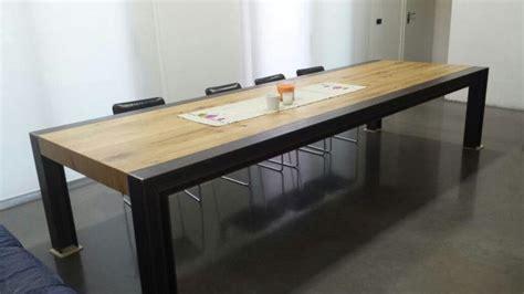 tavolo legno e acciaio realizzazioni varie ferro in provincia di e venezia