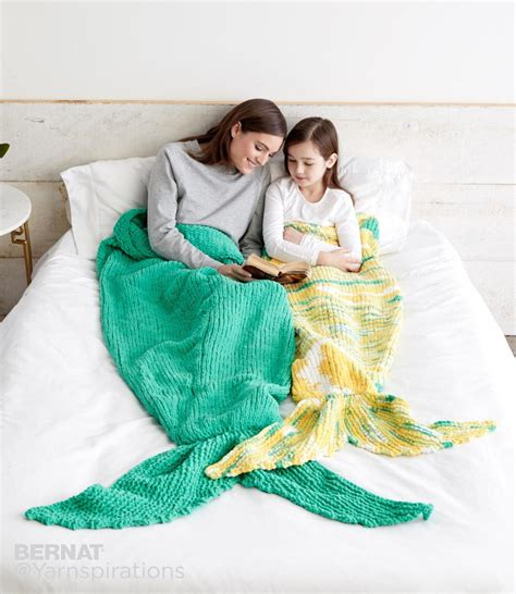 Knitted Mermaid Blanket mermaid knitted sack blanket allfreeknitting