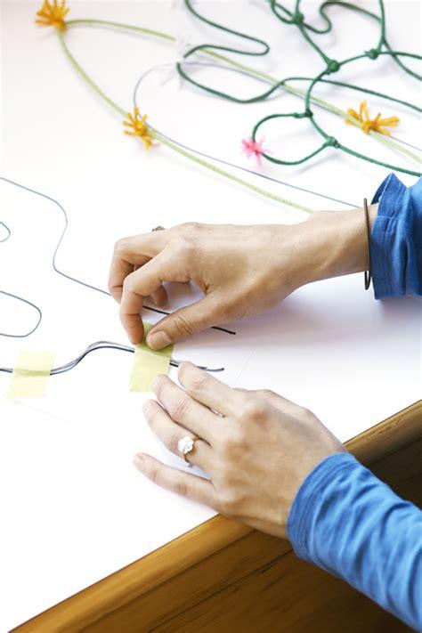 Decorating A Bedroom diy wire caccti tutorial