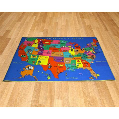 united carpets rugs printed carpet united states map