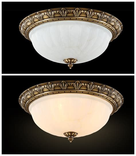 European Ceiling Lights Antique Retro European Style Ceiling Chandelier 2 4 Lights Flush Mount Fixture Ebay